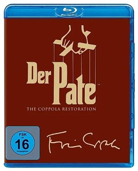 Der Pate 1-3 - The Coppola Restauration (Blu-ray) für 13,99€ inkl. Versand (statt 17€)