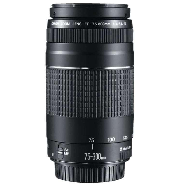 Canon EF 4,0-5,6/75-300 III Telezoom nur 69€ inkl. Versand (statt 152€)