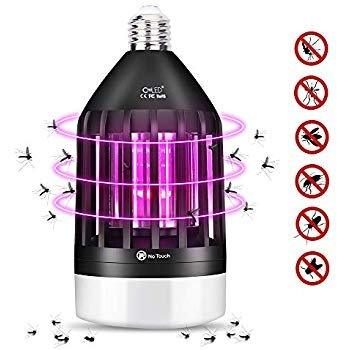 CroLED Insektenvernichter, 2in1 LED-Lampe mit UV-Mückenfalle für 15,99€ (prime)