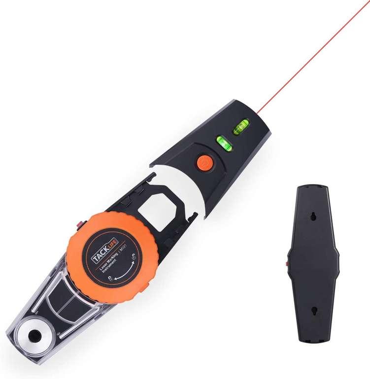 Tacklife MI01 Linienlaser mit Wasserwaage & Vakuumpumpe für 12,99€ inkl. Prime Versand (statt 25€)