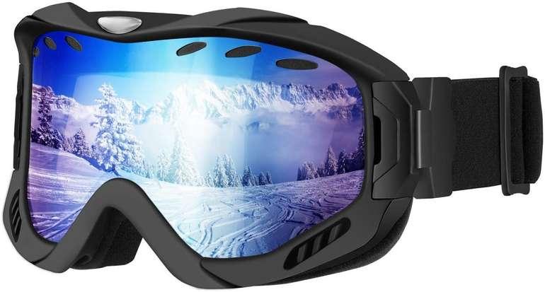 Mpow Skibrille mit UV-Schutz (2 Farben) für je 9,79€ inkl. Prime Versand (statt 17€)