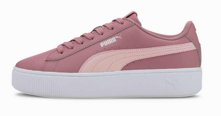 """Puma Vikky Stacked Damen Sneaker in """"Peach"""" für 27,26€inkl. Versand (statt 60€)"""