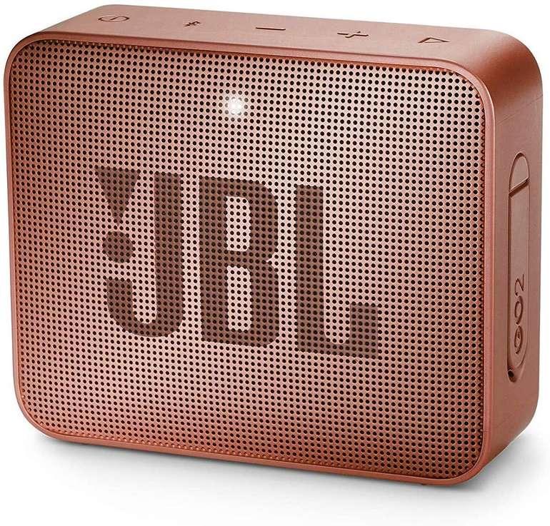 JBL Go 2 Portable-Lautsprecher (Bluetooth, 3 W, IPX-7) für 18,98€ inkl. Versand (statt 27€)