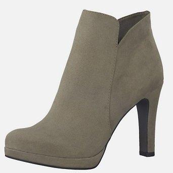 Tamaris Damen Ancle Boots taupe für 24,90€ inkl. VSK (statt 44,91€)