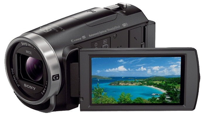 Sony HDR-CX625 Full HD Camcorder (30-Fach optischer Zoom, NFC) für 299€