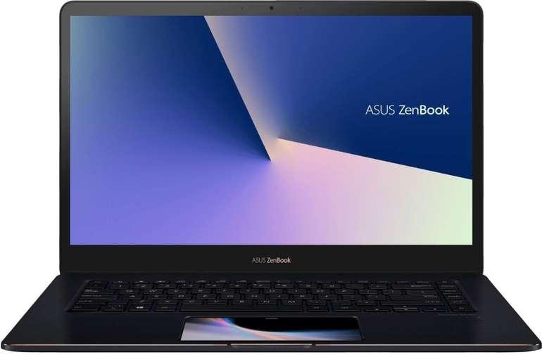 Top! Asus UX580GD ZenBook Pro - 15,6 Zoll UHD 4K Notebook mit i7-8750H, 512GB SSD & GTX 1050 für 1.199€