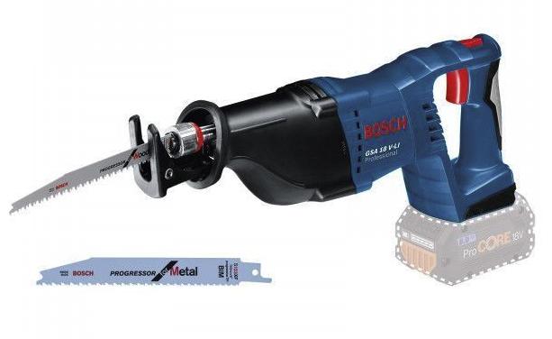 Bosch Akku-Säbelsäge GSA 18V-LI 18 V Solo mit Zubehör-Set für 129€ inkl. Versand (statt 144€)