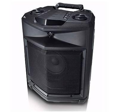 LG Loudr RK3 - Mobiler Lautsprecher mit Akkubetrieb & Transportrollen für 89,10€