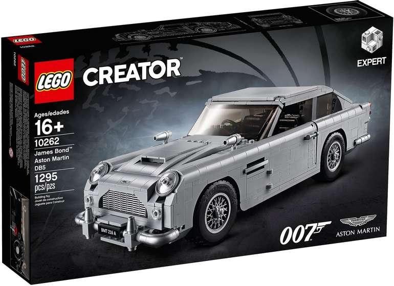 LEGO Creator 10262 - James Bond Aston Martin für 111,99€ (statt 123€)