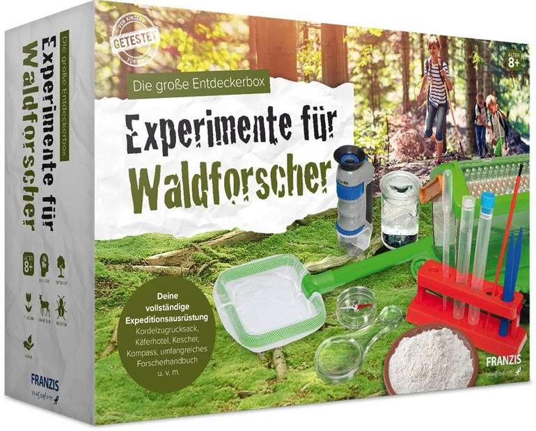 Franzis Die große Entdeckerbox: Experimente für Waldforscher für nur 21,99€ (statt 34€) - Thalia Club