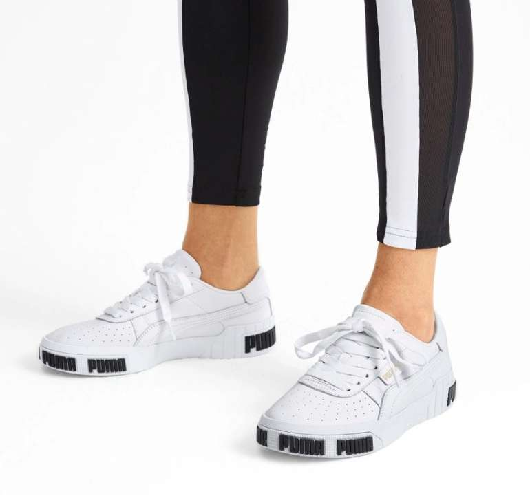 Puma Damen Sneaker Cali Bold in weiss für 35,05€ inkl. Versand (statt 43€)