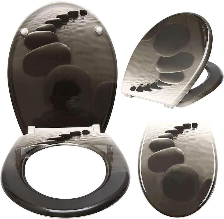 Einfeben Toilettendeckel mit Absenkautomatik in verschiedenen Designs für 18,89€ inkl. Versand (statt 27€)