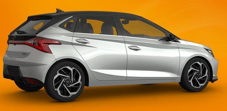 Hyundai i20 1.0 T-GDI74kW Hybrid Select Hybrid mit 101 PS für 109,46€ brutto mtl. – LF: 0.59