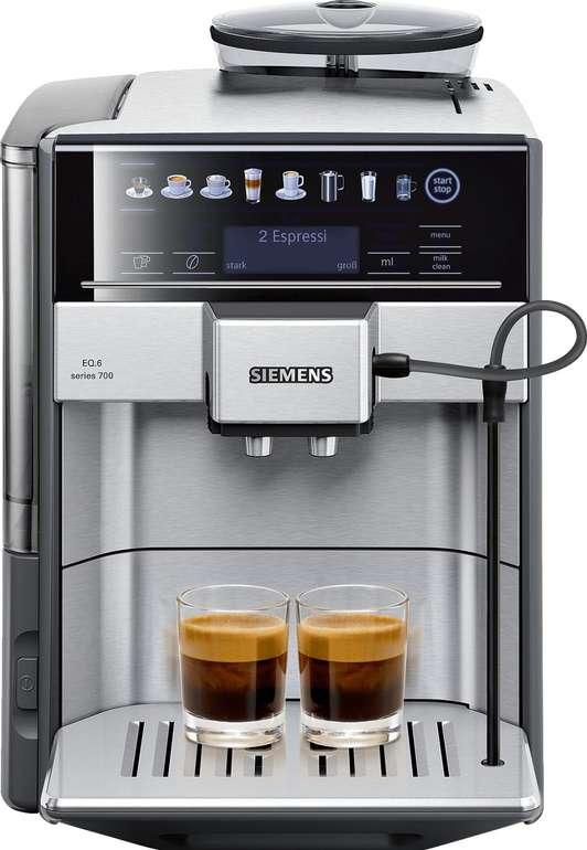 Siemens TE617503DE EQ.6 700 Kaffeevollautomat für 639€ inkl. VSK (statt 729€)