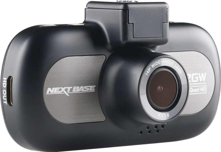 Nextbase Dashcam 412GW HD (1440p, GPS, DVR, Nachtsicht) für 76,31€ (statt 120€)