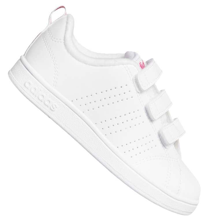 adidas VS Advantage Clean Kinder Sneaker in weiß für 26,94€ inkl. Versand (statt 35€)