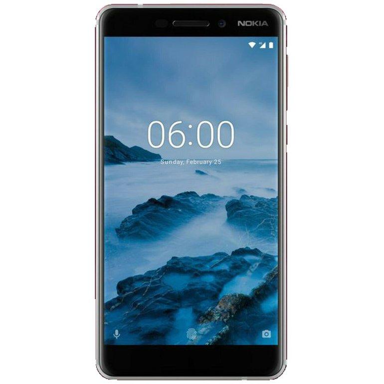 Nokia 6.1 Dual-SIM Smartphone mit 32GB Speicher für 139,90€