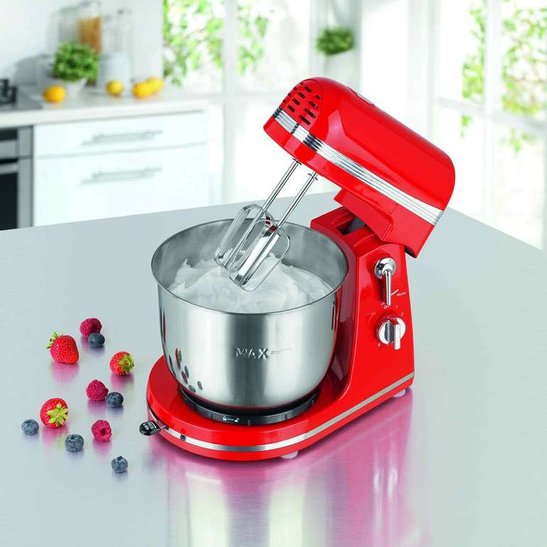 Cuisine Edition Küchenmaschine mit Edelstahl Rührschüssel für 34,99€