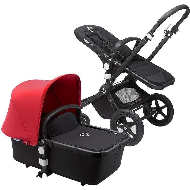 Bugaboo Kinderwagen Cameleon 3 Plus Complete Black/Black-Red für 599€ inkl. Versand (statt 749€)