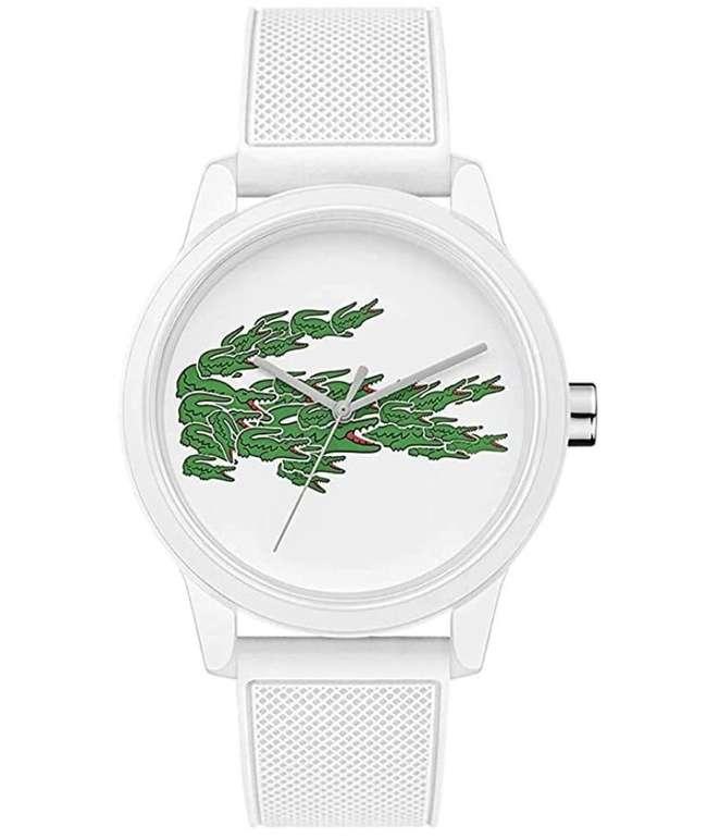 Amazon Prime Day: Lacoste Herren Analog Quarz Armbanduhr mit Silikonarmband (2011039) für 52€ (statt 78€)
