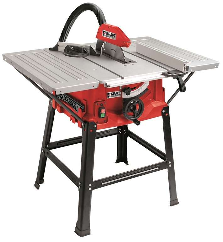 Kraft Werkzeuge Tischkreissäge TKS250 + 2. Sägeblatt für 88,25€ (statt 123€)