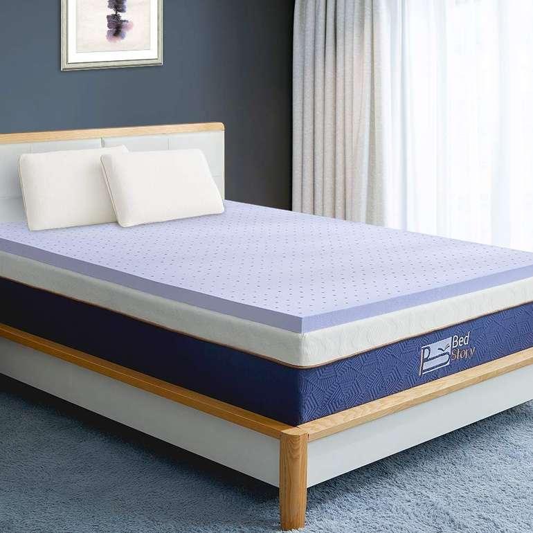 BedStory Matratzen-Topper (90cm x 200cm) für nur 26,80€ inkl. VSK (statt 45€)