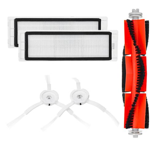 Xiaomi Vacuum Robot Ersatzteile (Hauptbürste + 2 Filter + 2 Seitenbürsten) 8,09€