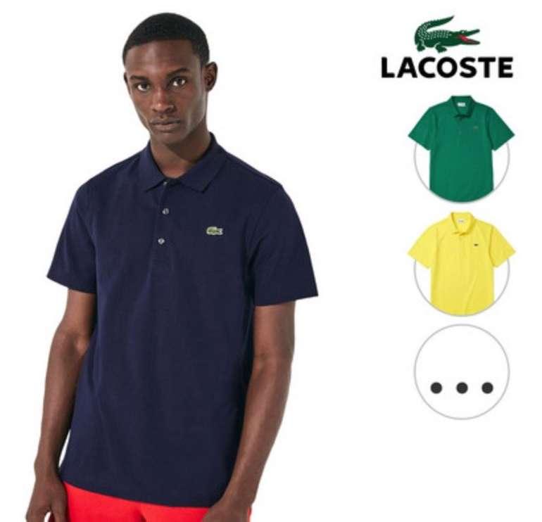 Lacoste Polos (Regular Fit) für je 45,90€ inkl. Versand (statt 55€)
