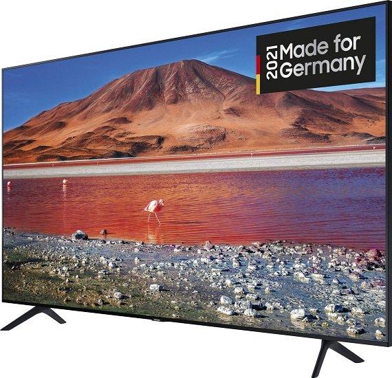 Samsung GU75TU7079U - 75 Zoll 4K UHD Smart-TV für 769€ inkl. Versand (statt 949€)