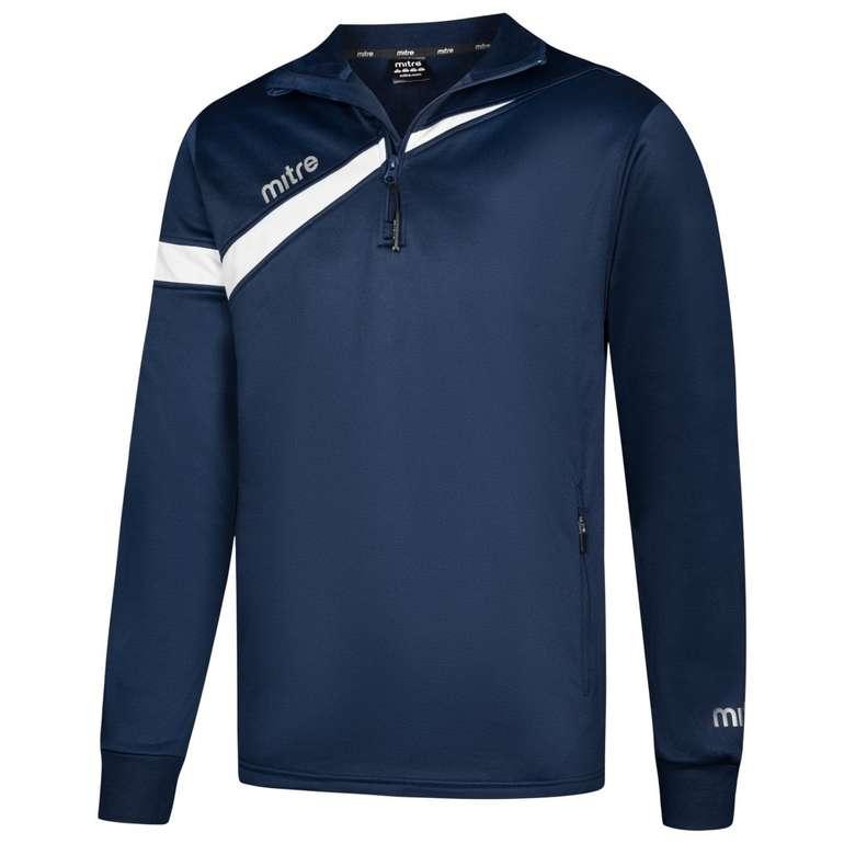 Mitre Polarize 1/4 Zip Trainings Sweatshirt in verschiedenen Farben für 8,39€ (statt 13€)