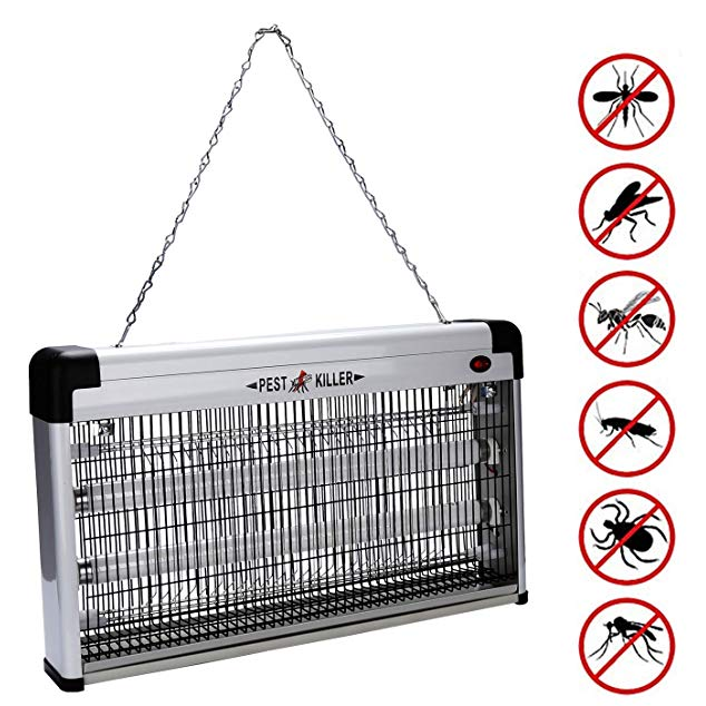 Wolketon 12W-40W UV-Licht Insektenvernichter Elektrisch ab 17,49€ inkl. Prime