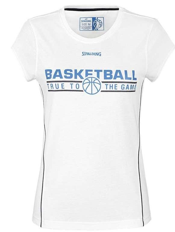 Spalding 4HER Basketball Damen Team Shirt für 9,94€ (statt 15€)
