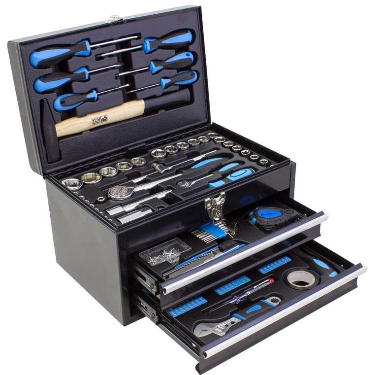 Karcher Werkzeugset (117 tlg.) mit Metallbox für 69,99€inkl. Versand (statt 100€)
