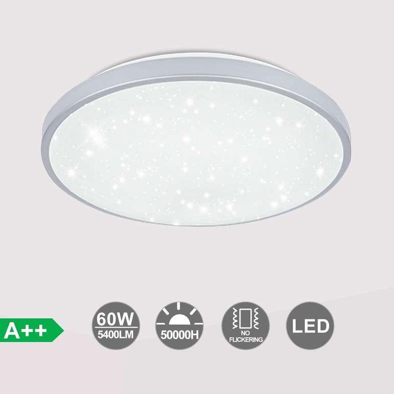 Verschiedene Vingo LED Deckenleuchte mit Sternenlicht reduziert, z.B. 60 Watt für 23,49€ (statt 40€)