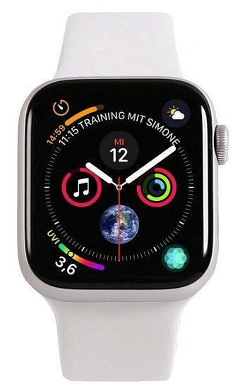 Apple Watch Series 4 GPS 44mm Alu-Gehäuse für 242,91€ inkl. Versand (statt 380€) - Wie Neu!