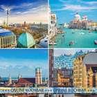 A&O Hotelgutschein: 3 Tage für 2 Personen (21 Städte, 6 Länder, 36 Hotels) für 39€