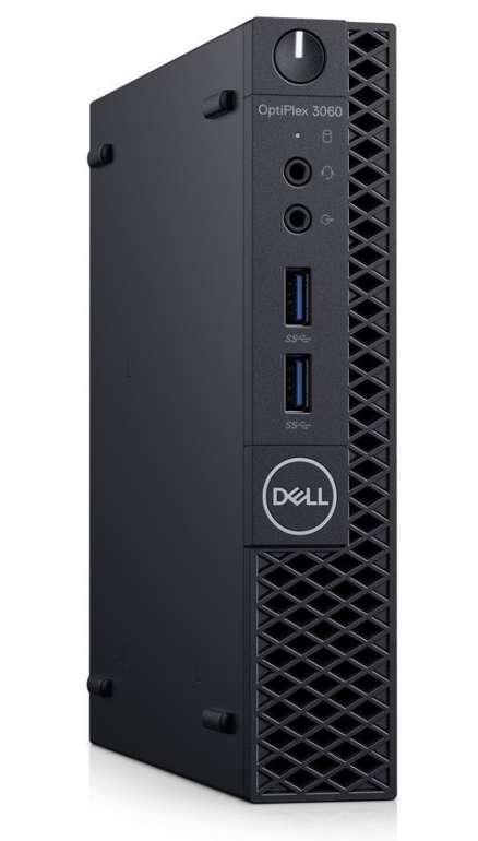 Dell OptiPlex 3060 Micro PC (i3-8100T, 4GB RAM, 500GB HDD) für 259,90€ (statt 357€)