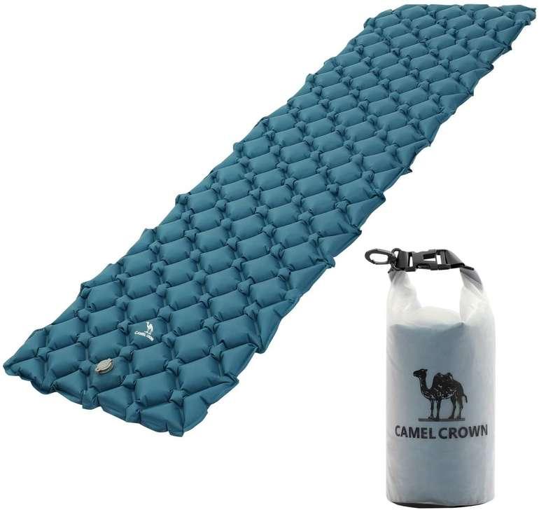 Camel Crown Outdoor Angebote - z.B. aufblasbare Isomatte für 17,90€ inkl. Versand (statt 25€)