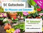5€ Rabatt auf Pflanzen und Zubehör + VSK-frei bei GartenXXL