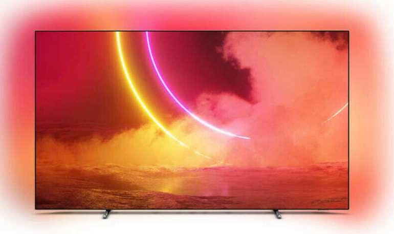 Philips 55OLED805/12 OLED TV 139 cm (4K UHD Android Triple Tuner Ambilight) für 899€ inkl. Versand - B-Ware