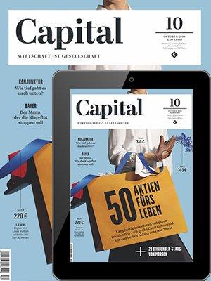 Capital Print + Digital Jahresabo für 117€ + 85€ Amazon Gutschein