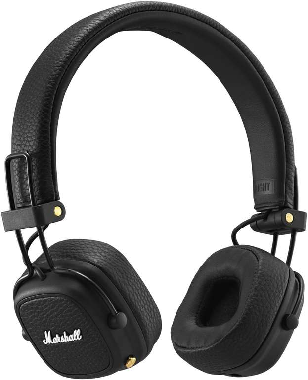 Marshall Major III Bluetooth-Kopfhörer in schwarz für 69,90€ inkl. Versand (statt 84€)
