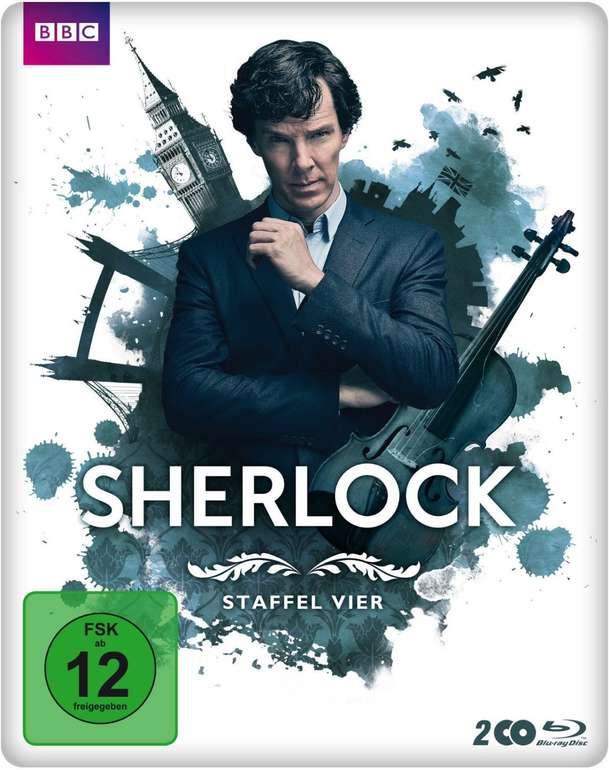 Sherlock – Staffel 4 (Limited Steelbook Edition, Blu-ray) für 9,99€ inkl. Versand (statt 25€)
