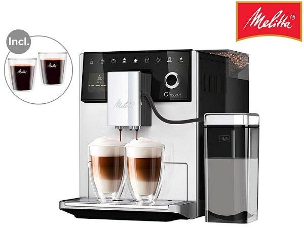 Melitta CI Touch F630 Kaffeevollautomat + 2 Espressogläser für 608,90€