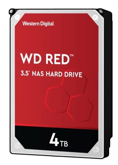Interne 3,5 Zoll Festplatte Western Digital Red 4 TB (WD40EFAX) für 101,01€ inkl. Versand (statt 114€)