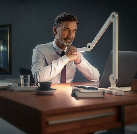 Steinel senses MOOOVE LED Design Tischleuchte (40,6cm) für 59,99€ (statt 90€)