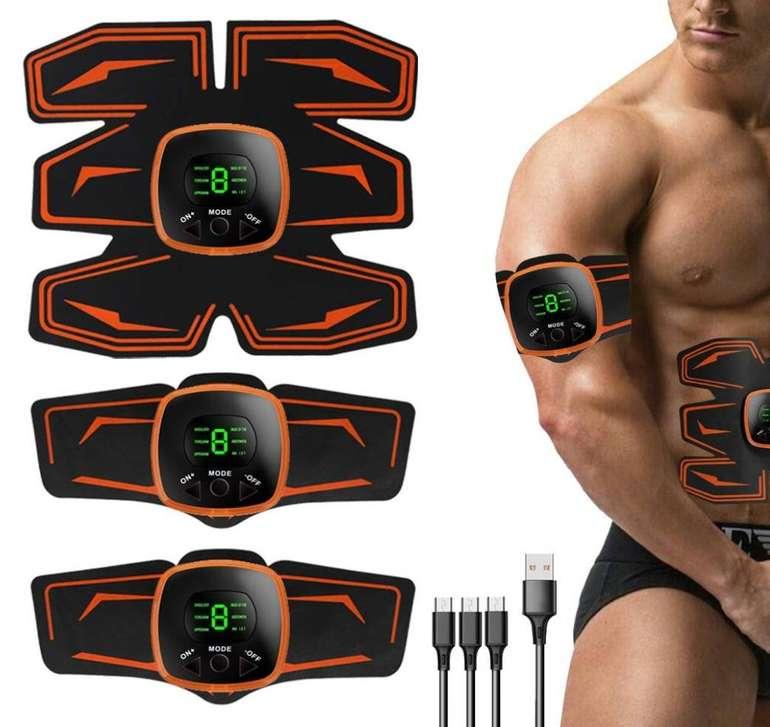 Lixada Elektrostimulations Muskeltrainer mit 6 Pads für 16,49€ inkl. Versand