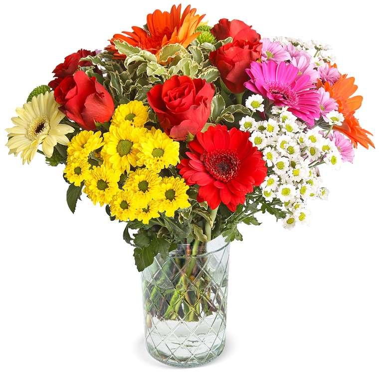 BlumeIdeal: Blumenstrauß Glückskind für 25,98€ inkl. Versand (statt 32€)