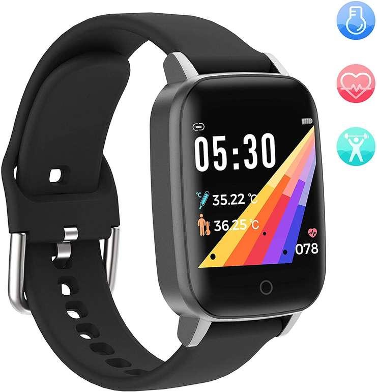 """YoYoFit Smartwatch mit 1,3"""" Display (Pulsuhr, Schlafmonitor, Schrittzähler) für 15€ inkl. Versand (statt 40€)"""
