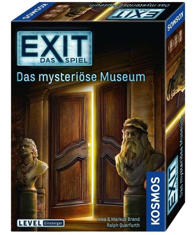 """Kosmos EXIT Spiel """"Das mysteriöse Museum"""" für 7,55€ (statt 13€) - Abholung!"""
